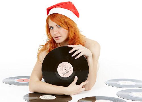 Запись новогодних песен на диск