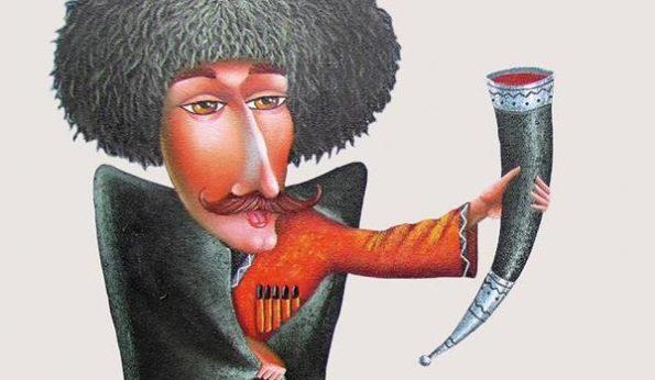 Диктор с кавказским акцентом