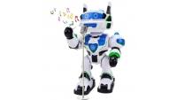 Диктор с голосом робота
